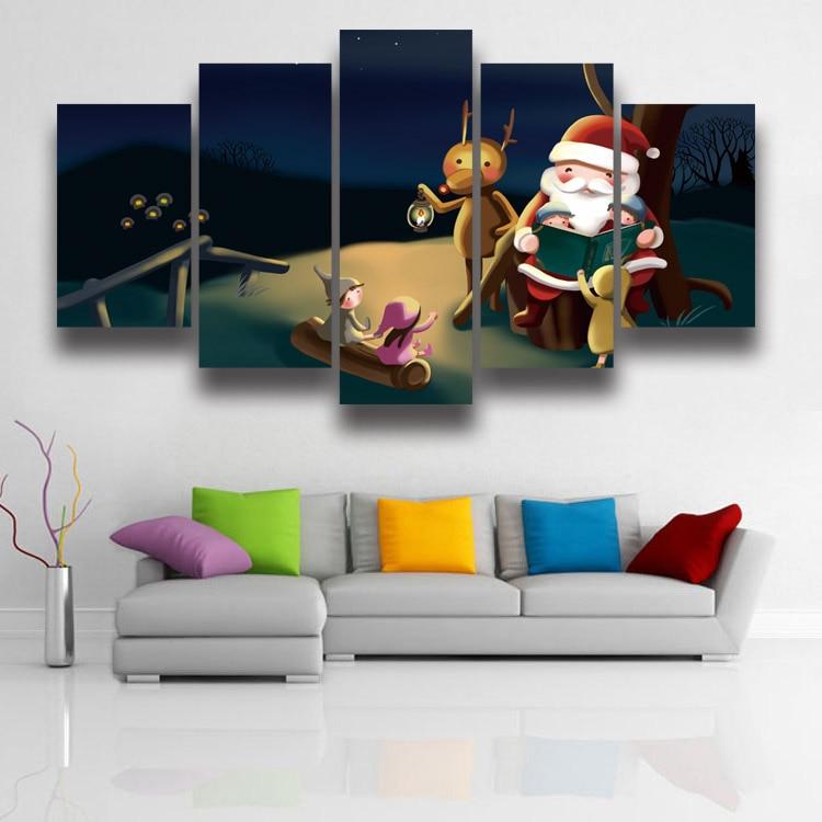 KEIN RAHMEN unframed Printed hohe qualität weihnachtsgeschenk ...