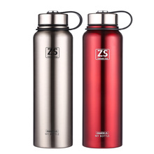 Large Capacity 304 Stainless Steel Vacuum Flasks 1500ML 900ML Car Thermo Cup Coffee Tea Travel Mug Thermol Bottle Thermocup