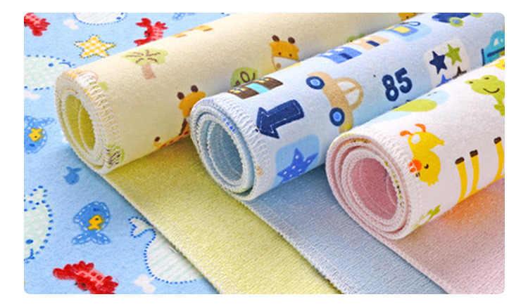 2019 Cartoon Newborn Diaper Changing Pad Baby Changing Mat Mattress Cute Bed Sheet Waterproof 30*45cm 50*70cm 70*80cm