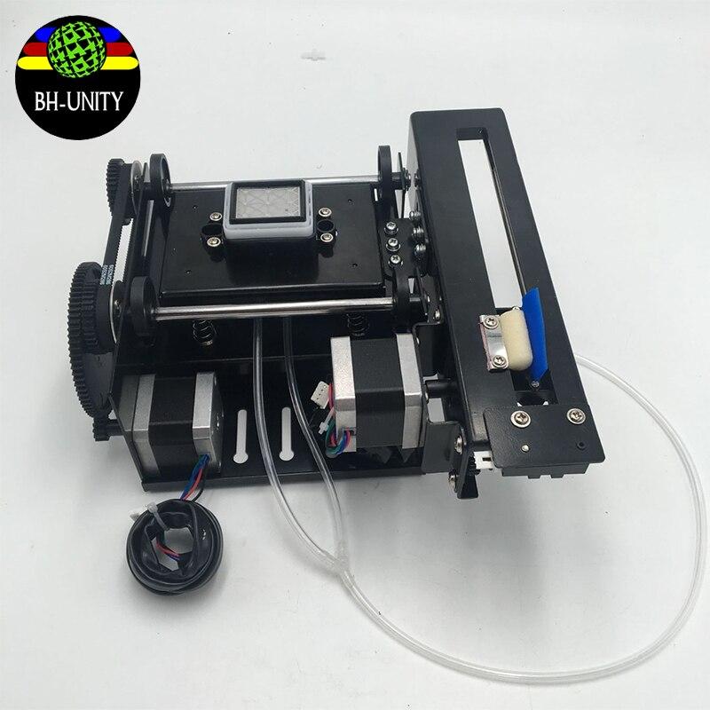 DX5 singola pompa di montaggio per Eco plotter solvente Cielo colore Yaselan X Roland Witcolor Allwin Gongzheng DX5 DX7 cap pulito kit - 4