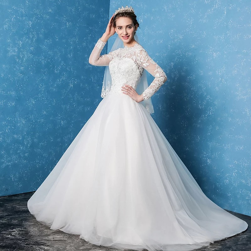 Wedding Factory Direct.Us 275 0 China Factory Direct Backless Lace Up Princess Lace Beautiful Robe De Marage Vestidos Wedding Dresses In Wedding Dresses From Weddings