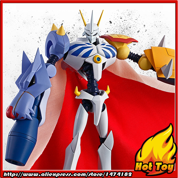 Original BANDAI Tamashii Nations S.H.Figuarts (SHF) Exclusive limited Edition Action Figure - Omegamon from Digimon Adventure 100% original bandai tamashii nations s h figuarts shf exclusive action figure garo leon kokuin ver from garo