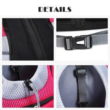 Pet Cat Dog Front Backpack Carrier Travel Bag  5