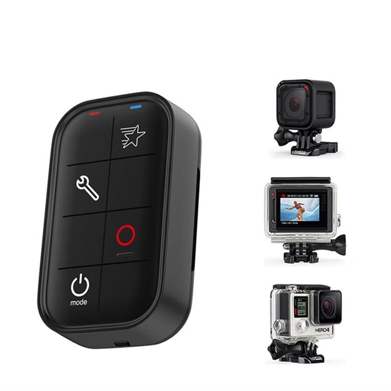 TELESIN Wifi télécommande pour Go Pro Hero 5 Action caméra accessoires câble de charge contrôleur Wi-Fi pour Gopro Hero 6 5 4 3 +