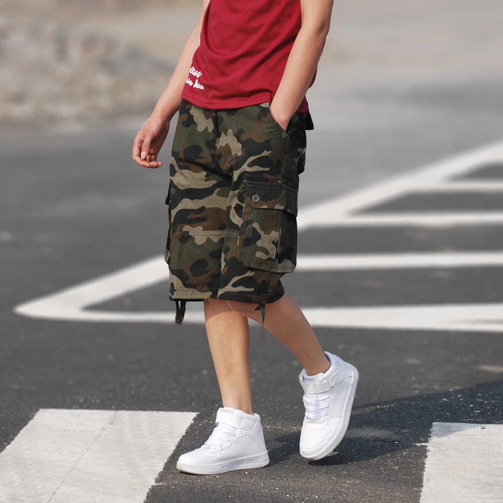 2020 neues freies verschiffen Männer shorts board shorts camo cargo military camouflage shorts casual Große größe shorts männer