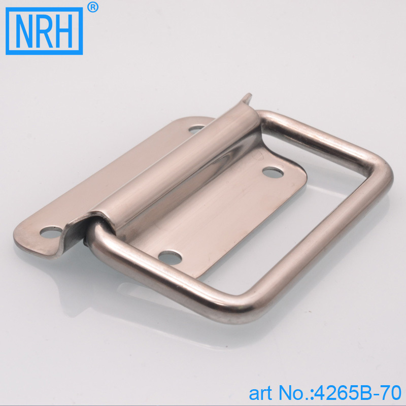 NRH 4265B-70 Stainless steel chest grab handle Factory direct sales Wholesale and retail high quality  tool box grib handle 3pcs plastic tool box chest set handle tray