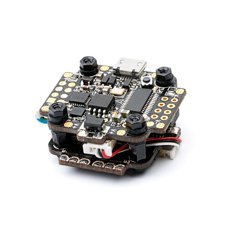 DYS mini pilha set/torre fly mini F4 e mini 4 em 1 esc F18A 2 4 s com BEC com OSD firmware BetaFlight 20x20 5V2A mm tamanho - 4