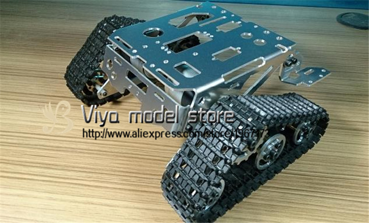DIY tracked robot & RC tank parts TKC one crawler chassis diy tracked robot