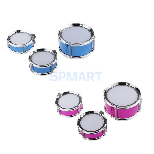 Big Band Jazz Drum Set Percussion Instruments With 3 Drums Gifts For