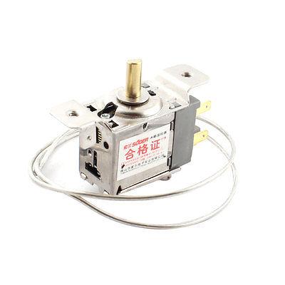 WDF18-L Refrigerator 65cm Long Cord 3 Pin Temperature Thermostat AC 250V 5(4)A 5pcs lot ksd302x 20a 250v 92 centigrade 4 pin temperature controlled thermostat assembly thermostat new