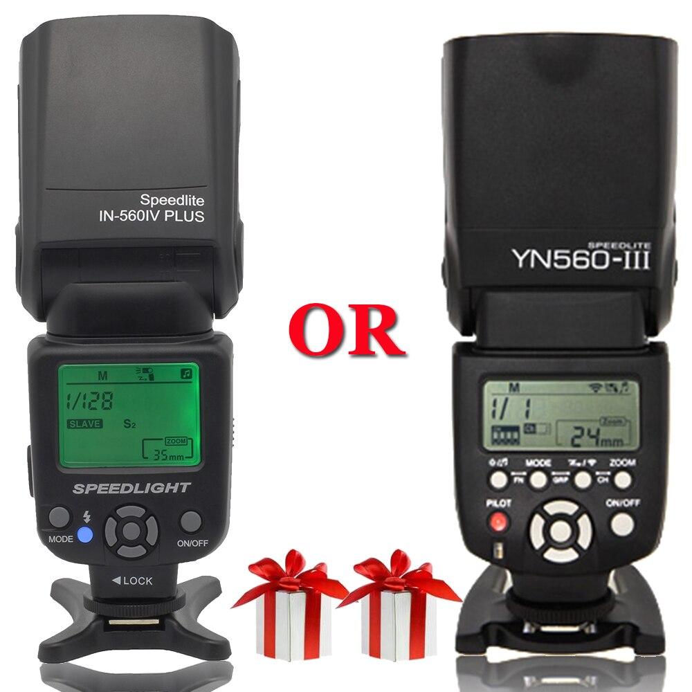 INSEESI Универсальные камеры фонарик IN-560IV Плюс или Yongnuo YN560III YN-560III Беспроводной Вспышка Speedlite для Canon Nikon Pentax