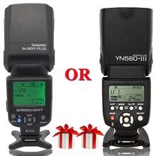 INSEESI Evrensel Kameralar El Feneri IN 560IV Artı VEYA Yongnuo YN560III YN 560III Kablosuz Flaş Speedlite Canon Nikon Pentax Için