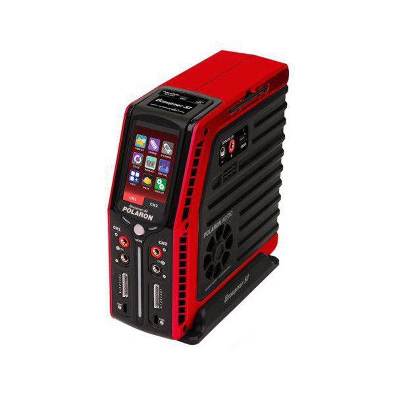 Graupner Polaron AC/DC 240W 7S 3 Color and Touch TFT (Red)