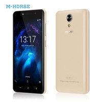 M-HORSE power 1 мобильный телефон 5050 мАч 5,0 дюймов Android 7,0 1 ГБ ОЗУ 8 Гб ПЗУ MTK6580 четырехъядерный двойной 5MP камера 3g смартфон