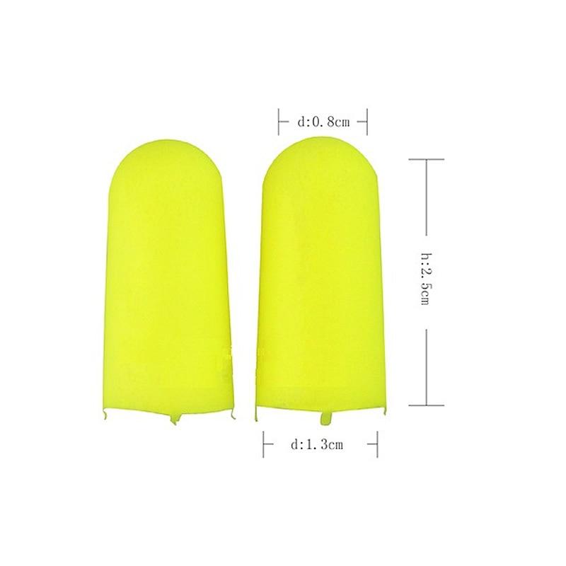 3M 312-1250 Earplugs Professional Noise Reduction Silencer Anti-noise Learning Sleeping Ear protector Soft Slow rebound Earplug (5)