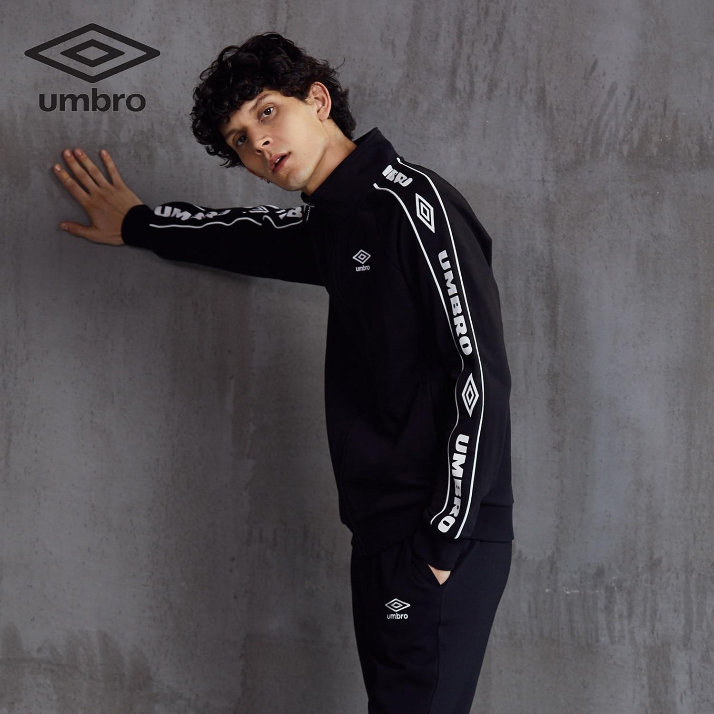 Image 3 - Umbro 2018  New  Men Sports Jacket Sweater Coat Zipper Collar  Male Classic Sportswear Leisure Breathable Jacket  Uo183ap2409Trainning