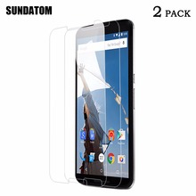 9H Hardness 0.2MM Thickness Real Glass Shatterproof Tempered Glass Screen Protection for Motorola google Nexus 6