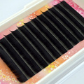 High Quality 3 Trays 0.07 C curl mink individual black false eyelash extension tray lash 12mm 10mm 8mm C-Lash lash eye