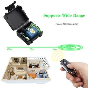 Image 4 - kebidu 433Mhz Wireless Remote Control Switch DC 12V 1CH relay Receiver Module RF Transmitter 433 Mhz Remote Controls