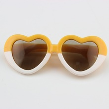 2pcs American Doll Sunglass American Girl Doll Accessories Heart Shape Fits 18 American Girl Doll For