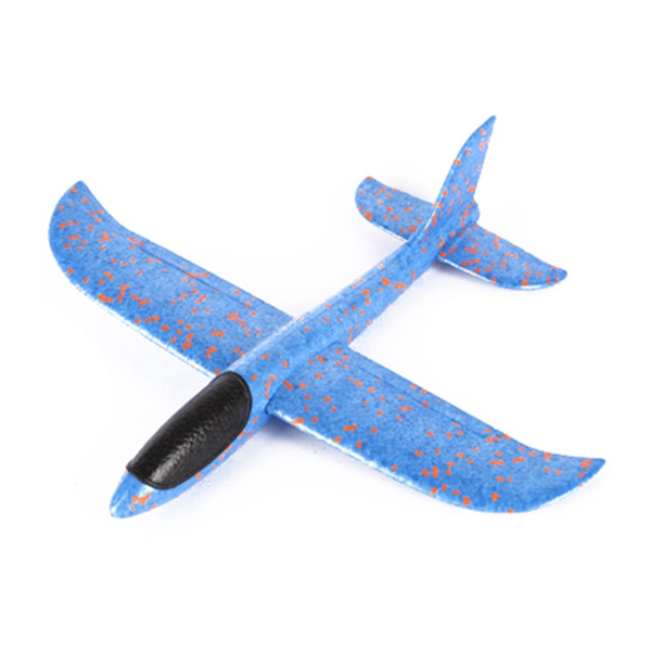 1Pcs EPP Foam Hand Throw Airplane Outdoor Launch Glider Plane Kids Gift Toy 48CM Interesting Toys in RC Airplanes from Toys Hobbies