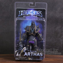 "NECA Heroes of The Storm The Lich King Arthas PVC Action Figure Collectible Modelo Toy 7 ""18 cm(China)"