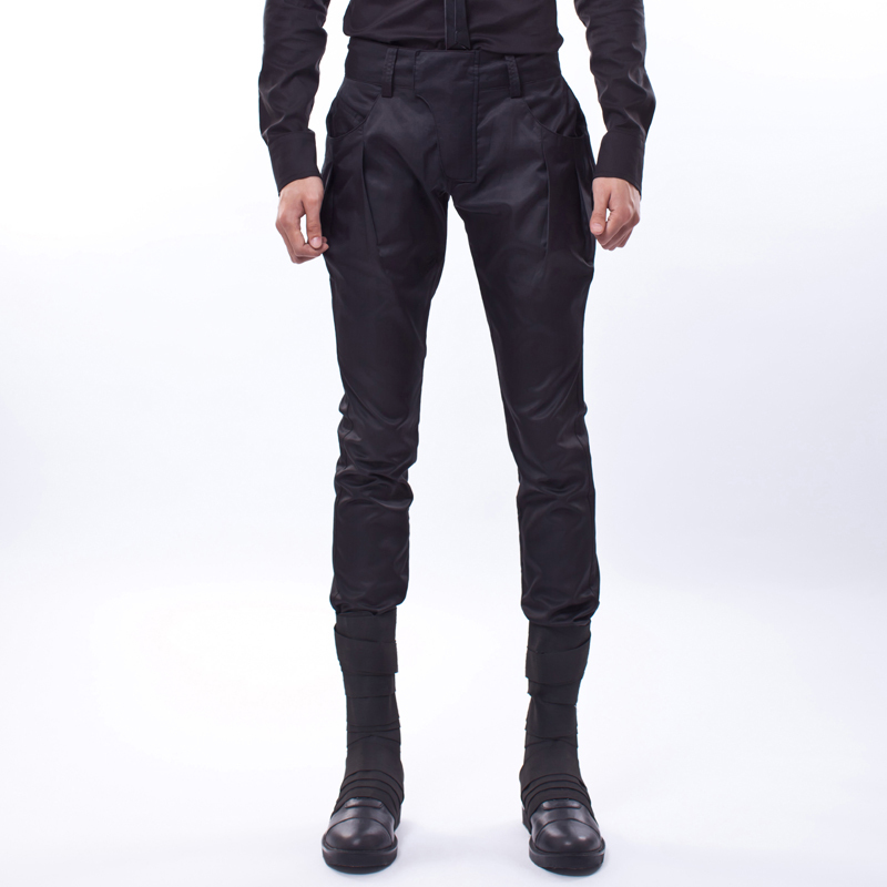 Fashionable casual men trousers slim skinny pants boot cut jeans 1c0624 S-XXL