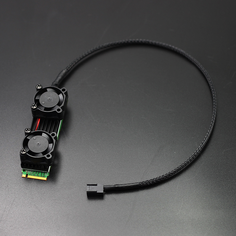 New PCIE Solid State Heat Sink Radiator SM951 960 961 2280 Radiator M.2 SSD Cooling Cooler Fan Hard Disk Heatsink