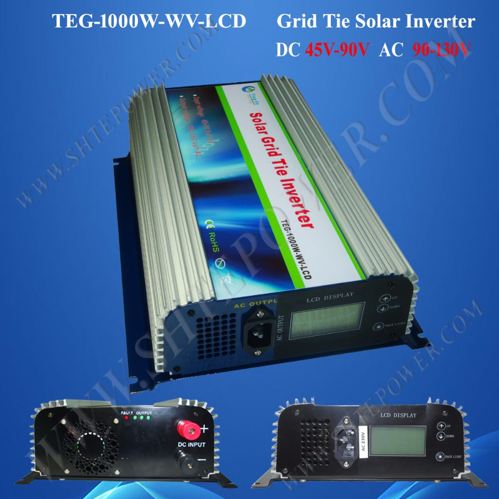 Inverter grid tie 1000w, inverter on grid, mppt solar charge controller inverter 1000w dc 45-90v input 220v 230v 240v output solar power inverter on grid tie dc 45 90v input with mppt function 2000w