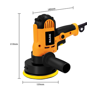 Image 4 - 220V elektryczna maszyna do polerowania samochodu Auto szlifierka regulowana prędkość szlifowanie woskowanie narzędzia akcesoria samochodowe Powewr Tools