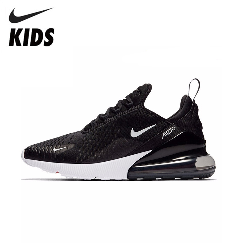 <font><b>NIKE</b></font> <font><b>AIR</b></font> <font><b>MAX</b></font> <font><b>270</b></font> <font><b>Kids</b></font> Original Children Running Shoes Comfortable Sports Outdoor Mesh Sneakers #943345 image