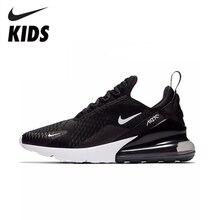 NIKE AIR MAX 270 Kids Original Children Running Shoes Comfor