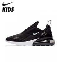 NIKE AIR MAX 270 niños originales zapatos para correr cómodos deportes al aire libre Zapatillas de malla #943345