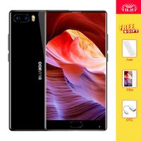 S1 5.5 ''FHD 4G Smartphone Bluboo P25 Bezel-menos Helio Núcleo octa Android 7.0 4 GB RAM 64 GB ROM Dual Câmera Traseira Do Telefone Móvel