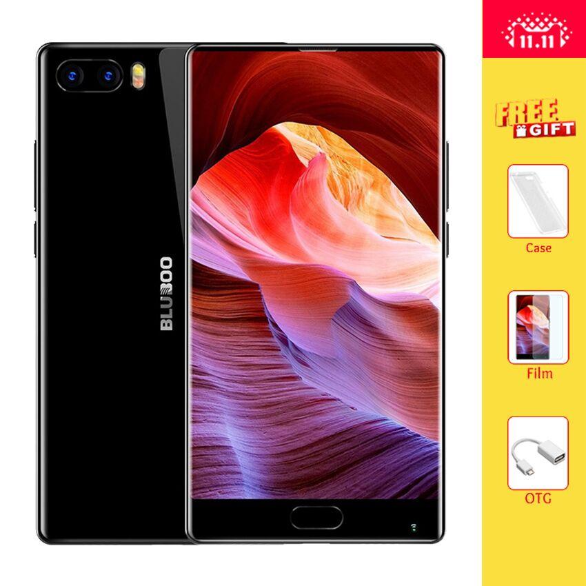 Bluboo S1 5,5 ''FHD 4G Smartphone Lünette-weniger Helio P25 Octa-core Android 7.0 4 GB RAM 64 GB ROM Dual Rückfahrkamera Handy