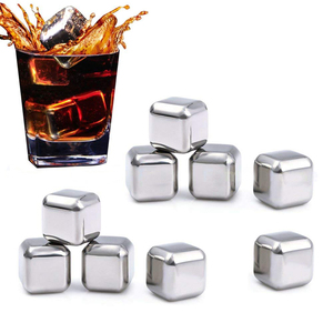 Image 1 - Xiaomi KMLONG 304 Stainless Steel Whiskey Cooler Wine Beer Cubes Chillers Physical Cooling Tool for Home Wedding