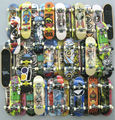 10pcs random Fingerboard Tech Decks 96mm mini Skateboard Original boys toy Plan B Element Blind DGK Zoo YorK Flip Birdhouse