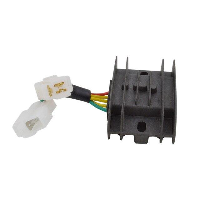 For Suzuki AN125 AN 125 Motorcycle 5 Wires Voltage Regulator ...