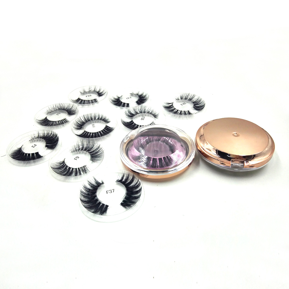 1pair Winged Eyelashes Mink Eyelashes Luxury Hand Made 3D Mink Lashes High Volume Cruelty Free Mink False Eyelashes Upper Lashes in False Eyelashes from Beauty Health