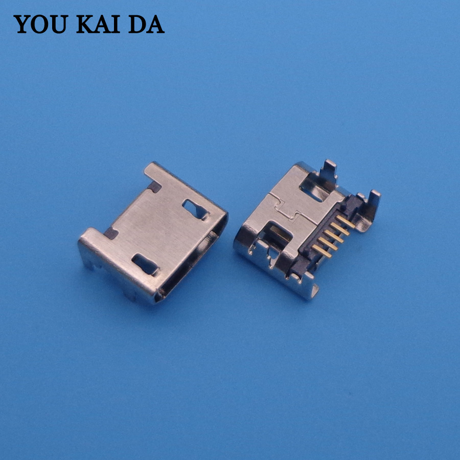 50PCS/LOT For TAB Archos 8.0 Xenon Micro Mini USB Jack Power Charging Data Sync Connector
