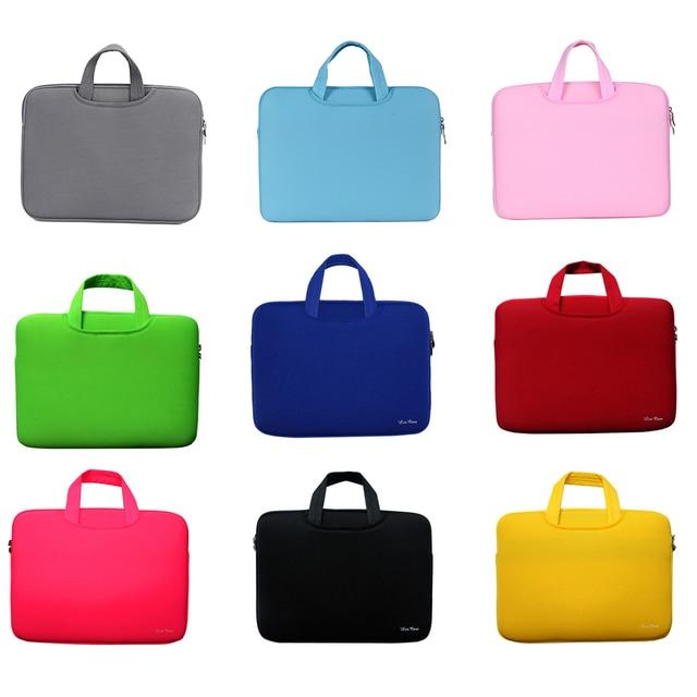 1ca21a59e8e3 US $12.11 |Portable Soft Sleeve Laptop Bag Case Briefcase Fashion Handlebag  Pouch for 13 inch 13