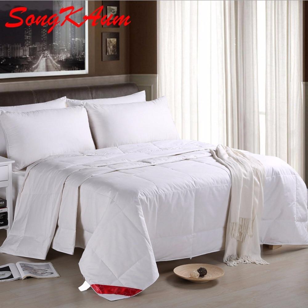 summer quilt duck down comforter feather duvet european brand 100 duck down comforter warm blanket - Down Blankets