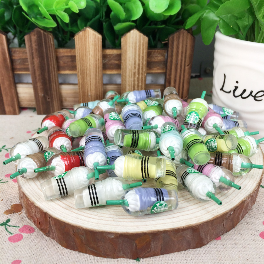 Hot!!! Kawaii Flatback DIY Logo Bottle Resin Cabochons Flat Back Scrapbooking Embellishment Decoration Crafts Making:12*32mm