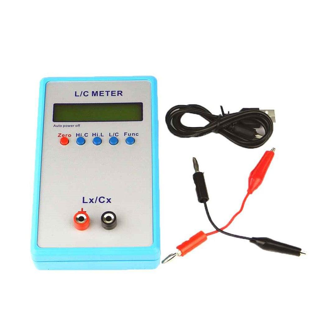 LC200A LC Inductance Inductance condensateur mètre LCR numérique pont LCD écran 150*89*29mm