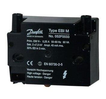 New EBI 052F0030 Danfoss Ignition Transformer For Burner