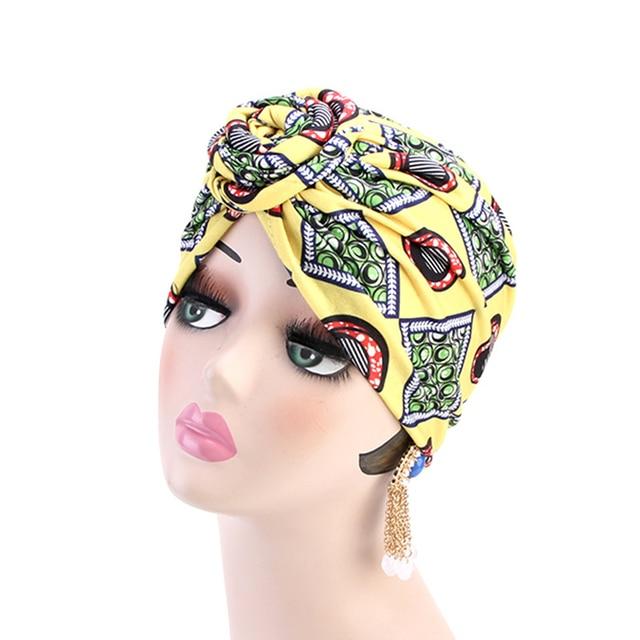 KIGALI Turban motif africain  5