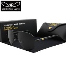 QUEENS KISS Classic Brand polarized sunglasses Fashion HD Glare men women sun glasses high quality driving Aviation sunglasses