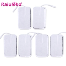 20 Pcs 9x5cm 2mm Plug Reusable Tens Electrodes Electrode Pads for Pulse Digital Physiotherapy Muscle Stimulator Electrodes