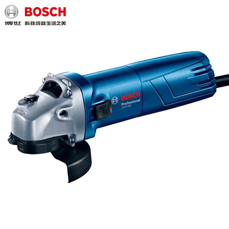 Bosch Upgraded Angle Mill GWS660 Multi-functional Small Cutting, Grinding, Polishing And Grinding Hand Grinding Wheel Angle Mill