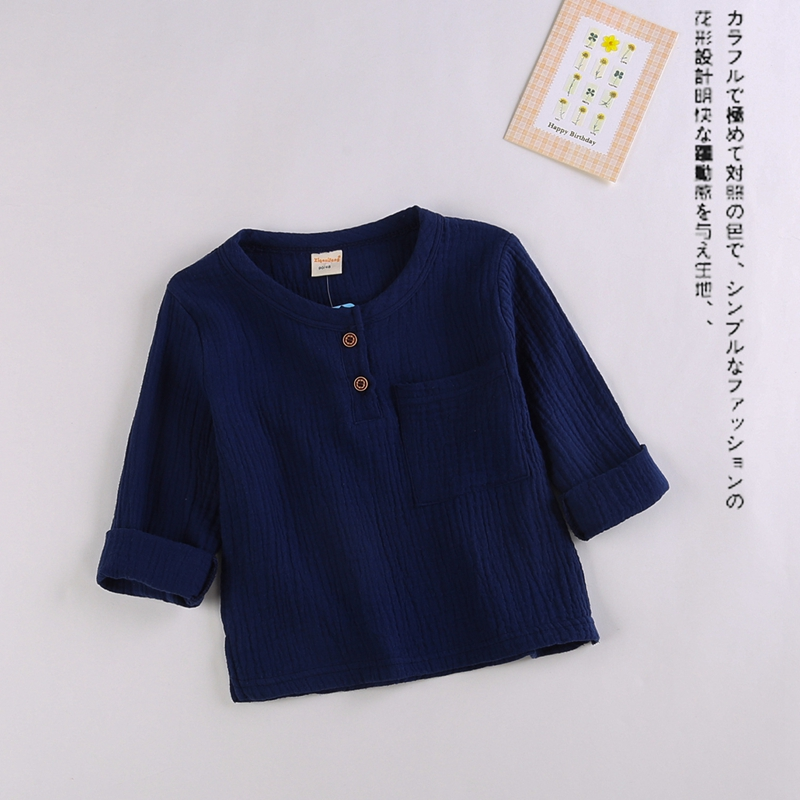 Spring-Baby-Boys-Solid-Pockets-Long-Sleeve-O-Neck-T-shirt-Kids-Cotton-Basic-Casual-Tops-Infant-Girls-Clothes-roupas-de-bebe-1